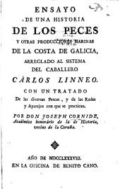 Ensayo de una historia de los peces y otras producciones marinas de la costa de Galicia