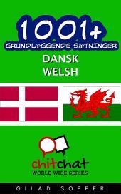 1001+ grundlæggende sætninger dansk - Welsh