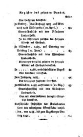 Baierische Landtags-Handlungen in den Jahren 1429 bis 1513: Band 10