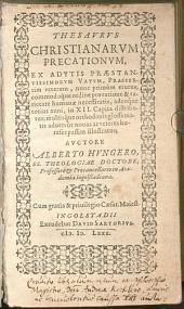 Thesaurus christianarum precationum