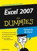Excel 2007 f  r Dummies PDF