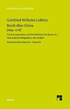 Briefe   ber China  1694 1716  PDF