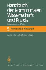 Handbuch der kommunalen Wissenschaft und Praxis PDF