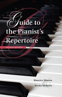 Guide to the Pianist s Repertoire  Fourth Edition PDF