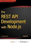 Pro REST API Development with Node js PDF