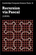 Download Recursion Via Pascal Book