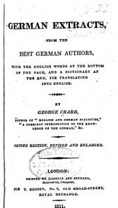 German Extracts : from the Best German Authors