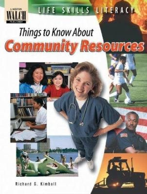 Life Skills Literacy  Things to Know about Community Resources PDF