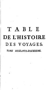 Histoire générale des voyages: Volume62