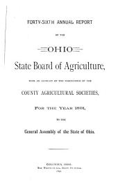 Annual Report of the Ohio State Board of Agriculture: Volume 46, Part 1891