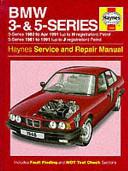 BMW 3- & 5-series Service and Repair Manual