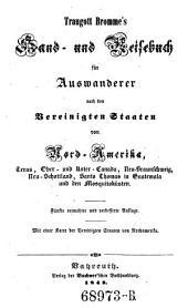 Hand- und Reisebuch für Auswanderer nach den Vereinigten Staaten von Nord-Amerika. 5. verm. Aufl. - Bayreuth, Buchner 1848