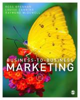 Business to Business Marketing PDF