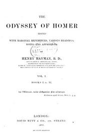 The Odyssey of Homer: Books I to VI