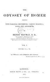 The Odyssey of Homer: Books I to VI