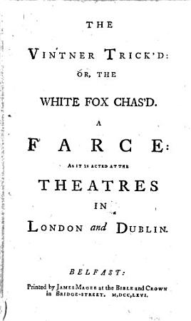 The Vintner Trick d  Or  the White Fox Chas d PDF