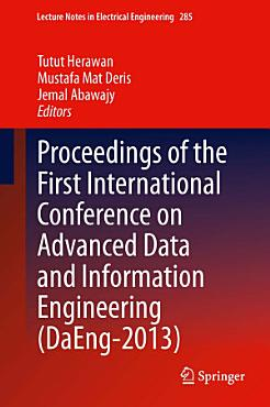 Proceedings of the First International Conference on Advanced Data and Information Engineering  DaEng 2013  PDF