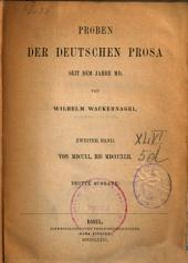 Deutsches Lesebuch: Teil 3,Band 2