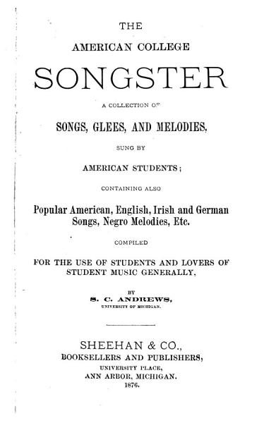 The American College Songster PDF