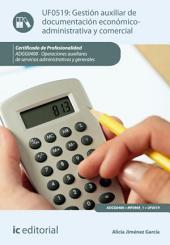 Gestión auxiliar de documentación económico-administrativa y comercial. ADGG0408