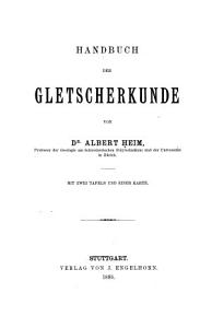 Handbuch der Gletscherkunde PDF
