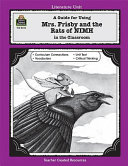 A Guide for Using Mrs  Frisby and the Rats of NIMH in the Classroom