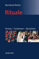 Rituale  Formen     Funktionen     Geschichte PDF