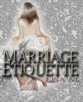 Marriage Etiquette PDF