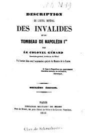 Description de l'hôtel impérial des invalides et du tombeau de Napoléon Ier