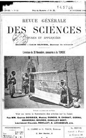 Etude scientifique de la Tunisie: géographie, histoire, ethnographie, géologie, mines, agriculture, industrie, travaux publics, statistique