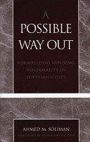 A Possible Way Out