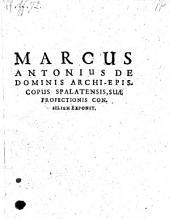 Suae profectionis consilium exponit (Denuo impressum)