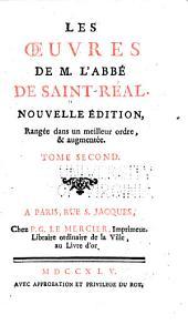 Traités de philosophie, de morale et de politique. Traités historiques. De l'usage de l'histoire
