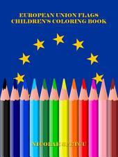 European Union Flags - Children's Coloring Book