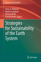 Strategies for Sustainability of the Earth System PDF