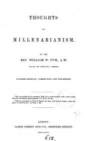 Thoughts on millenarianism