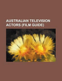 Australian Television Actors