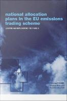National Allocation Plans in the EU Emissions Trading Scheme PDF