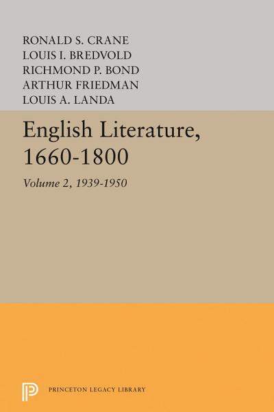 English Literature  Volume 2