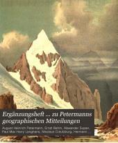 Petermann's geographische Mittheilungen: Ergänzungsheft