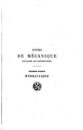 Cours de mécanique appliquée aux contructions: Volume2