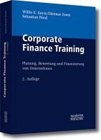 Corporate Finance Training PDF