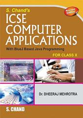 S. Chand's ICSE Commerical Applications for Classes 9