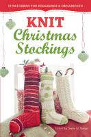 Knit Christmas Stockings PDF