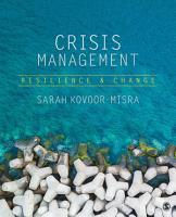 Crisis Management PDF