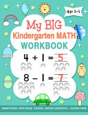 My Big Kindergarten Math Workbook Age 3 5 PDF