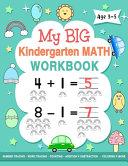 My Big Kindergarten Math Workbook Age 3 5 PDF