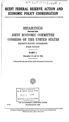 Hearings  Reports and Prints of the Joint Economic Committee