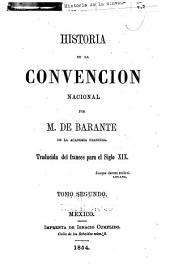 Historias de la Convencion nacional: Volumen 2
