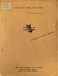 Publications 1951 1956  Denver Wildlife Research Laboratory PDF